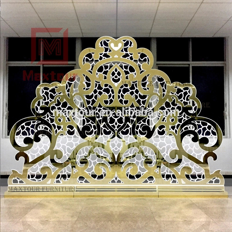 High quality  flower wall acrylic wedding backdrop for decoration