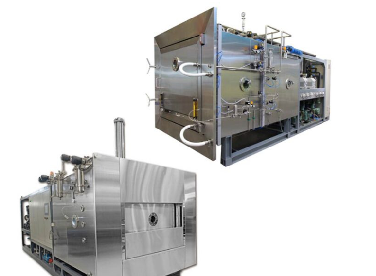 Square type vacuum freeze dryer, vacuum Laboratory lyophilizer