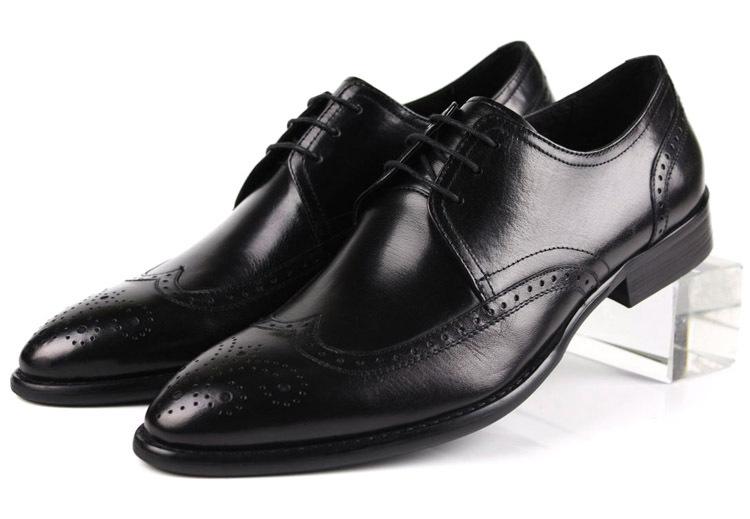 Get Quotations · Unique design mens dress shoes Black Brown tan casual  business shoes genuine leather wedding shoes cbfb7cd65ff5