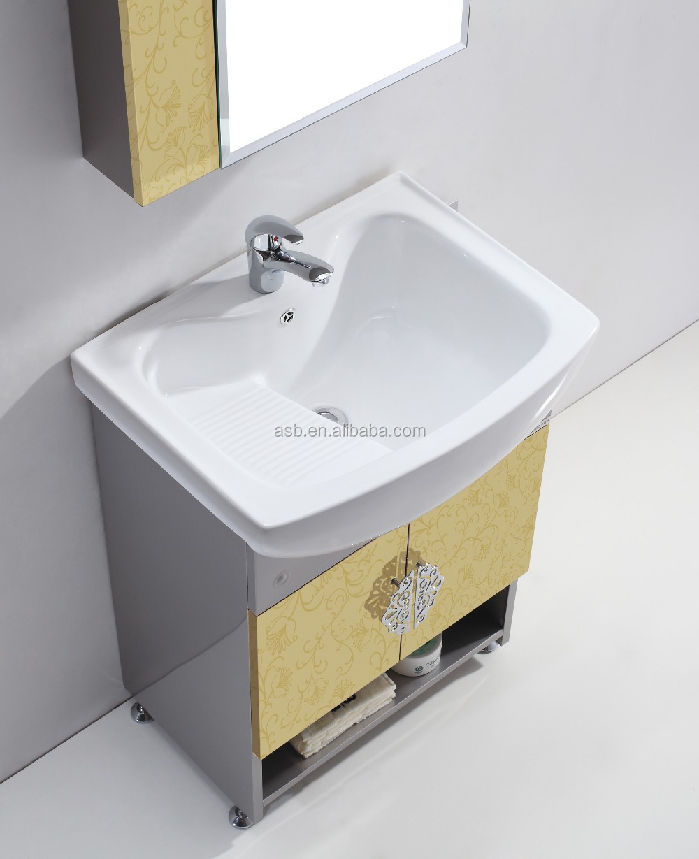 floor mounted stainless steel 24 single bathroom vanities