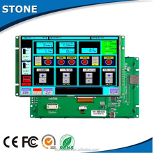 industrial intelligent 3.5 inch LCD controller card with UART port MCU and 320*240 resolution for automation machine