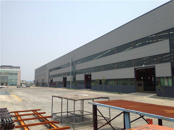 energy saving prefabricated steel warehouse