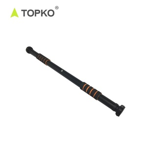 TOPKO Popular Gym and Home Use Iron Total Upper Body Workout Door Gym Bar
