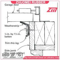 custom garage door bottom seal, replacement rubber kit