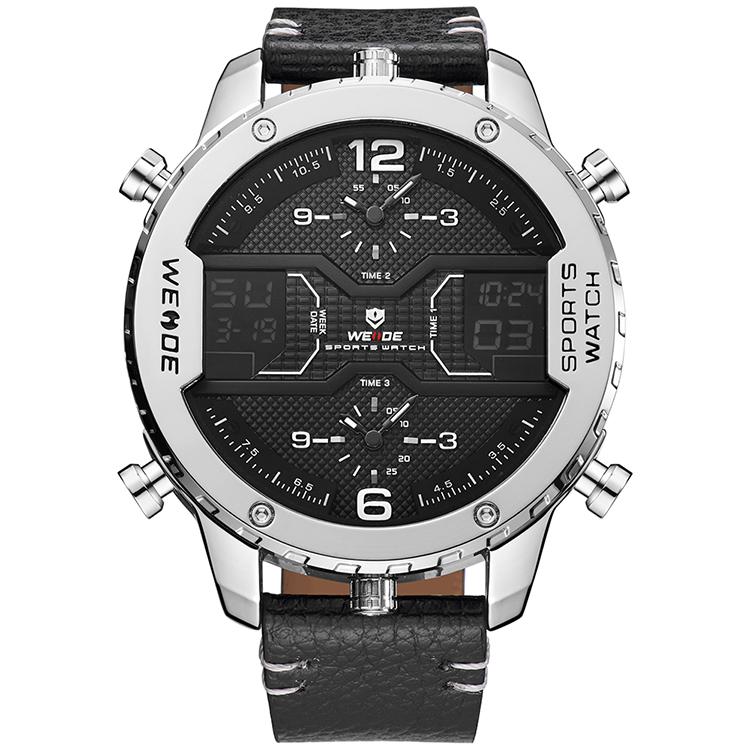 2017 يدي اليابان movt كوارتز ساعة الفولاذ الصلب عودة WH6401 top brand أحدث الساعات للرجال