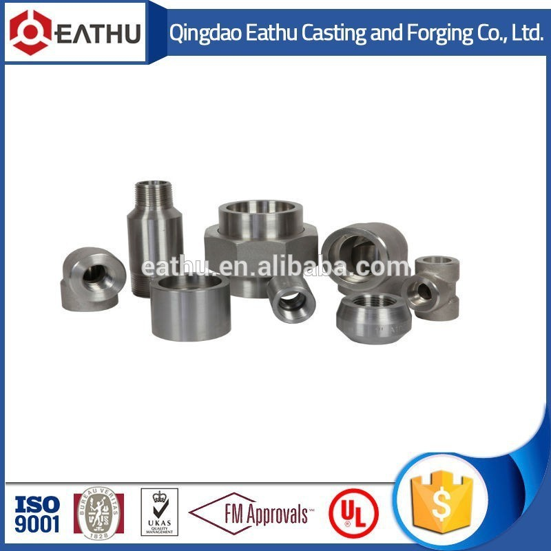 High Pressure ANSI B16.11 Forged pipe fitting with scrd and SW
