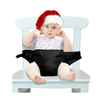 Portable Baby Travel High Chair Booster Safety Seat Strap Harness Belt for Baby Feeding
