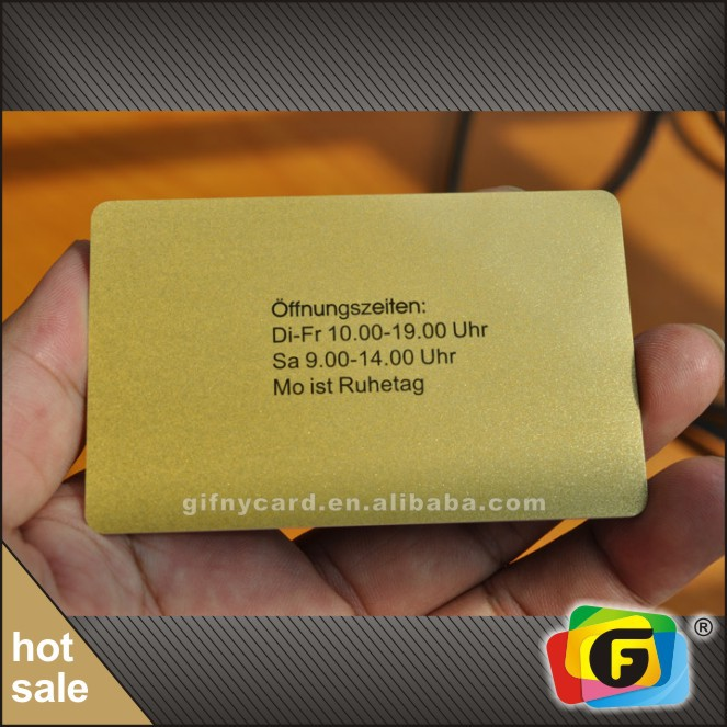 China Supplier High Quality Gold Or Silver Glitter Pvc Card