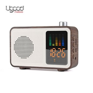 New Arrivals AUX Bluetooth Speaker FM Radio Portable,Clock Speaker With TF Card