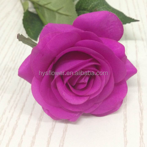 Natural Touch Rose Flowers Latex Real Small Single Flower