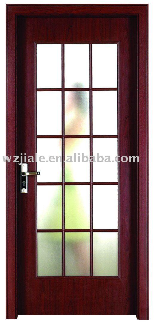 conception fine verre salle de cuisine en bois porte battante ... - Porte De Cuisine En Verre