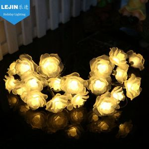 Rose led string light for wedding party decoration
