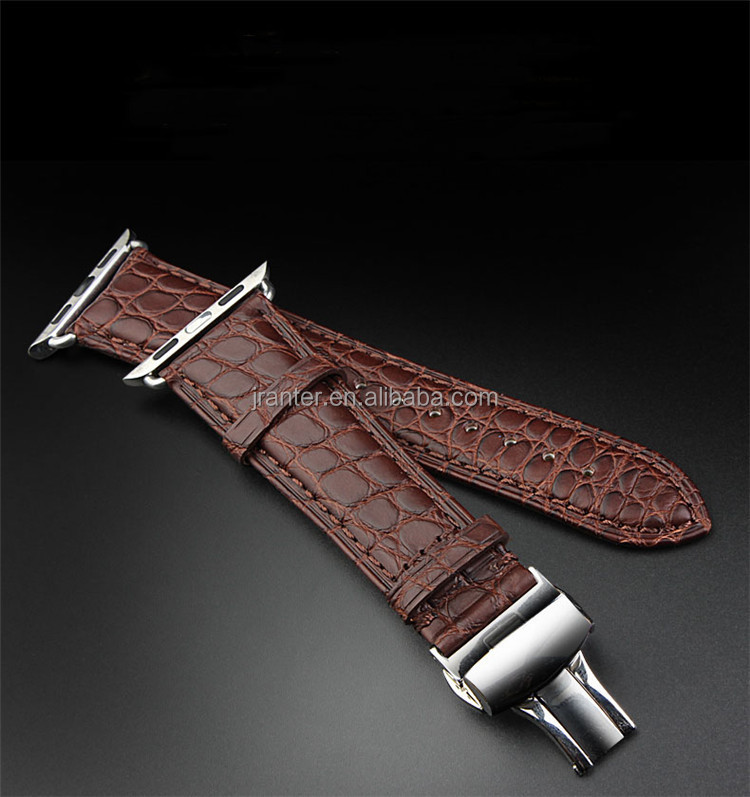 Jranter genuine crocodile leather watch band