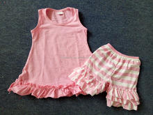 Best selling wholesale soft cotton baby outfits child clothes summer outfits