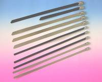 Wholesale Low Price High Quality Pvc Plastic Coated Stainless Steel Cable Tie/Metal Core Cable Tie
