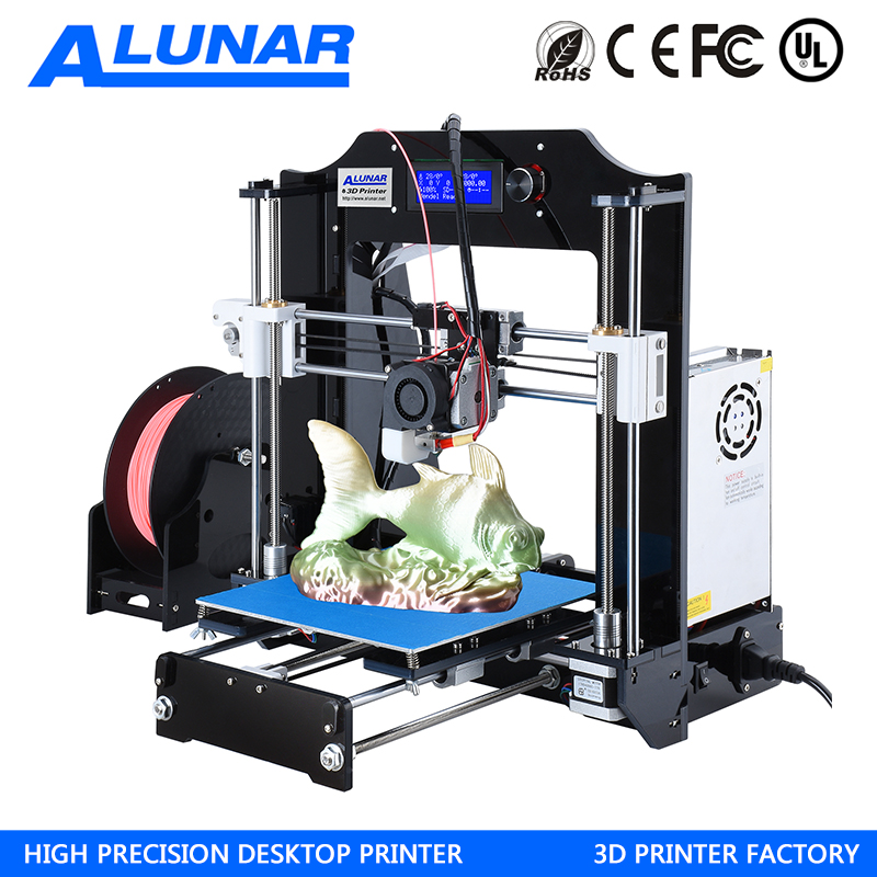 Auto Leveling Desktop 3D Printer Prusa I3 DIY Kit High Accuracy CNC Self-assembly 200*200*180mm Printing Size