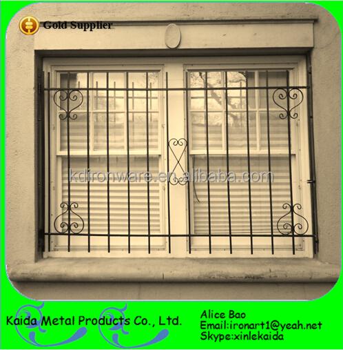 New Design Mild Carbon Steel Forged Iron Door Window