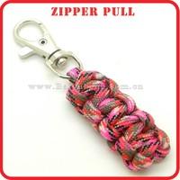 custom metal locking zipper pull for sale