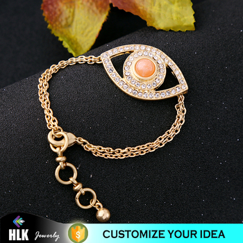 2017 Latest Fashion Tanishq Jewellery Chain Link Bracelet Crystal