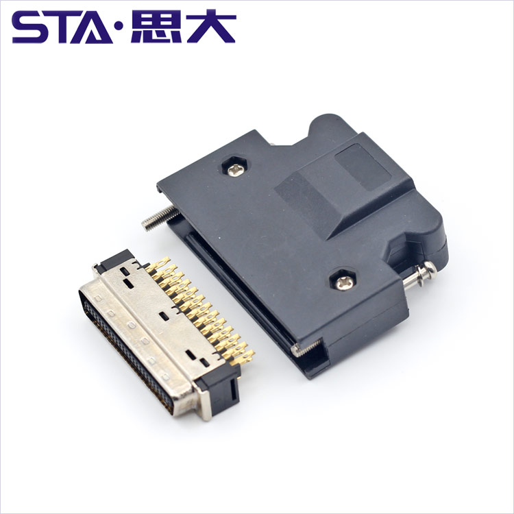 3 M 10350,50 pin SCSI cable connector