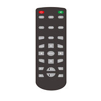Factory price Infrared Hotel Learning Remote Controller For TV and STB