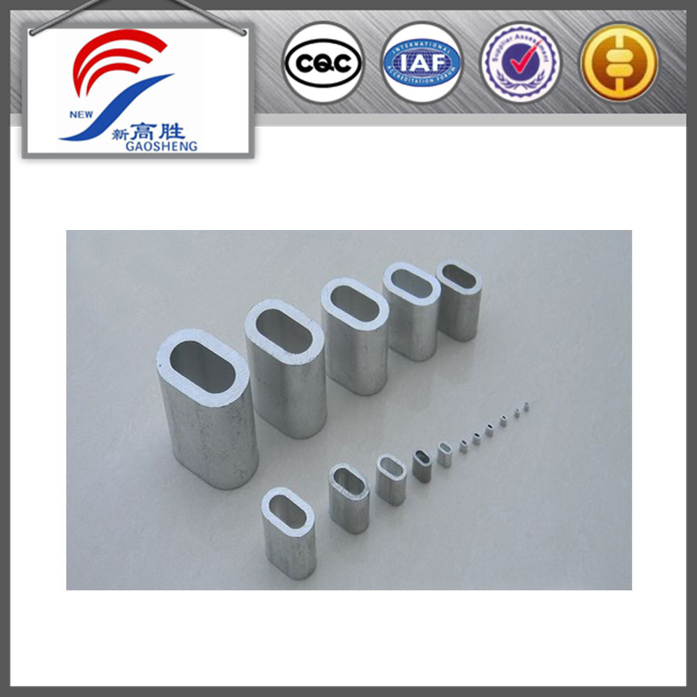 Aluminium Sleeves For Steel Wire Rope, Aluminium Sleeves For Steel ...