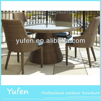 Restaurant Indoor Synthetic Rattan Dining Chair