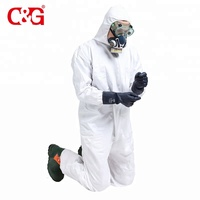 Comfortable chemical protective safety working suit