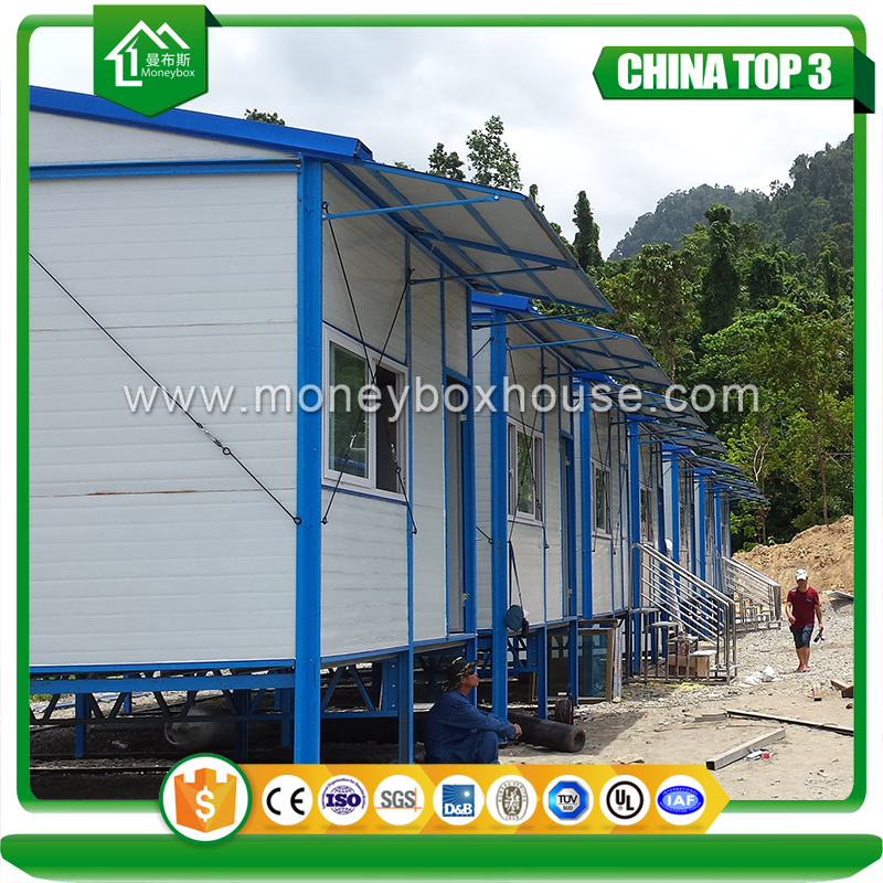 China Supplier Fast Building Prefab Homes For Fiji Prefabricated House