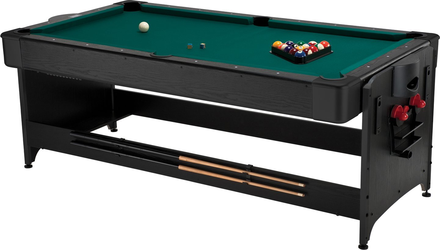 Gentil Get Quotations · Fat Cat Pockey 7ft Black 3 In 1 Air Hockey, Billiards, And