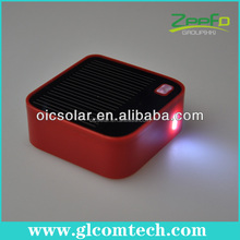 Good quality 3000mah portable mini cube solar charger for iPhone, battery packs,mobilephone,camera with CE,ROSH,FCC