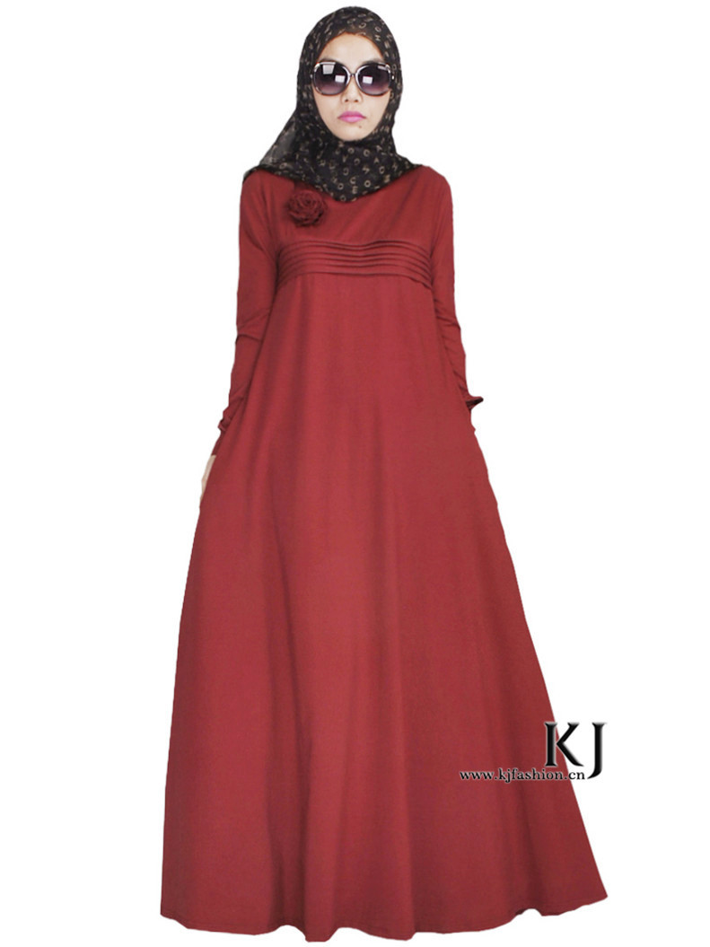 2bbd509eea419 Get Quotations · Latest Design Muslim Dress Floral Strip Abaya Traditional Islamic  Clothing For Women Maxi Long Jilbabs And
