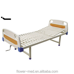 China Supplier Economic Basic 5 function wooden folded electric hospital bed