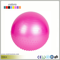 Fitness Exercise Gym Fit Yoga Core Ball 65CM Abdominal Back Workout