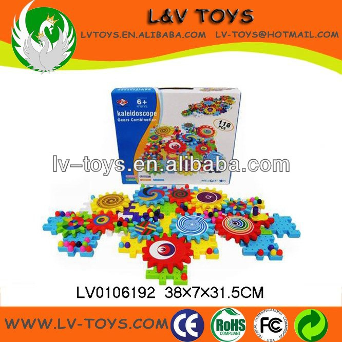 118pcs geer hui mei building block