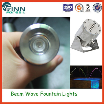 Water Jet Fountain Nozzles 3w Led Light Indoor