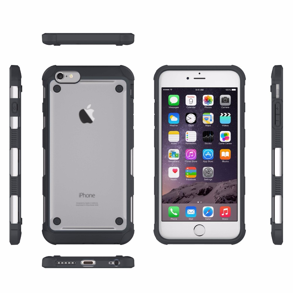 New products 2017 tpu pc bumper phone case for iphone 7 case phone accessory