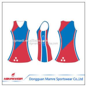 Free design polyester custom fitness netball sportswear athletic workout tennis dress printing