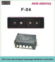 2012 newly design multi-function bathtub controller F-04 from SOWO