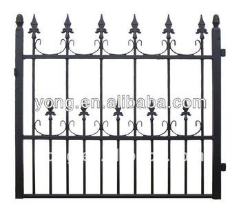 Short Wrought Iron Garden Fence   Buy Fencing,Used Wrought Iron  Fencing,Cheap Wrought Iron Fence Product On Alibaba.com