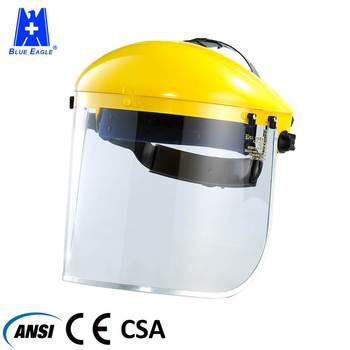 Face protection CE ANSI Industrial plastic face shield