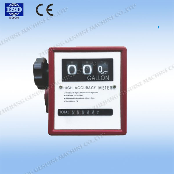 flow meter for diesel/petrol/gasoline with mechanical counter ZCM-20G
