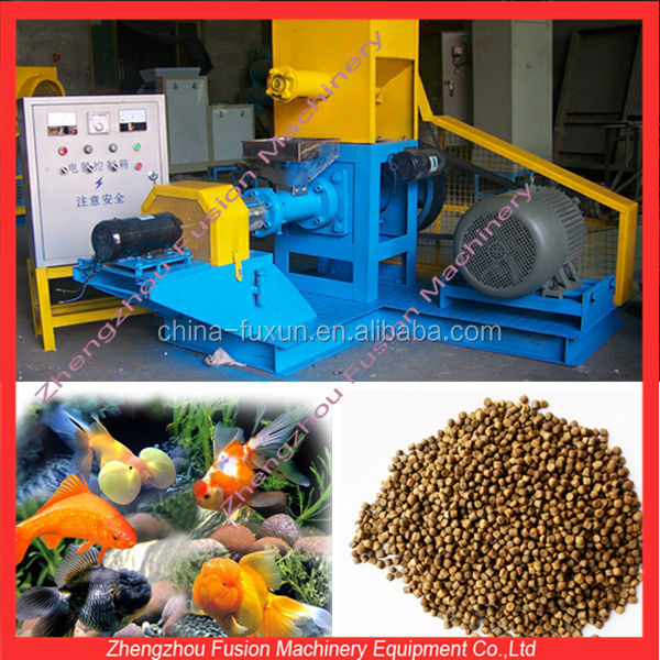 Floating Fish Feed Twin Screw Extruder/screw Float Fish Feed ...