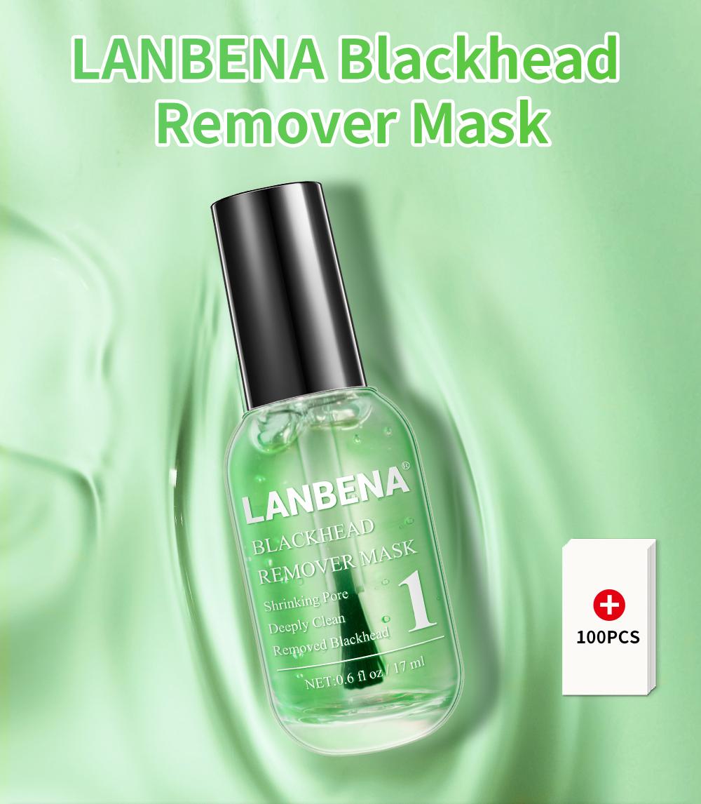 Lanbena High Quality Green Tea Best Blackhead Remover Mask Wholesale Buy Blackhead Remover Mask Blackhead Mask Best Blackhead Mask Product On Alibaba Com