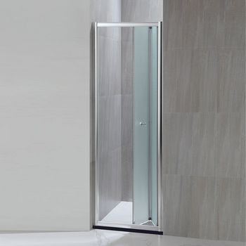 Superbe Aluminum Folding Shower Screen Accordion Shower Doors (KD3207)