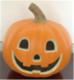 2018 better the Halloween easy plastic glow in the dark ornament blow plastic pumpkin string with Moon Eyes and Big Smile