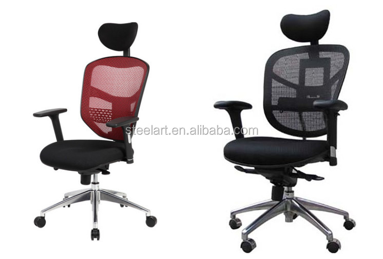 Wholesale Price Height Adjustable Chair High Back Swivel Ergonomic Mesh Racing Style Office Chair