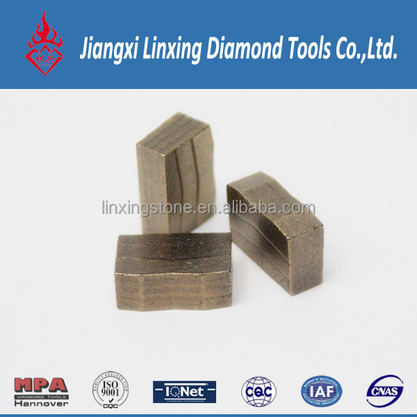 Sandwish Type, Golden Color Diamond Segment for Granite