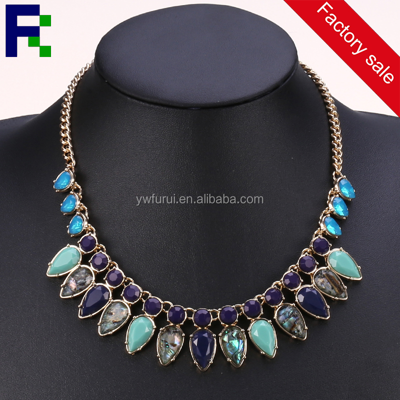 Mixed order available statement necklace 2016,wholesale fashion jewelry,latest design beads