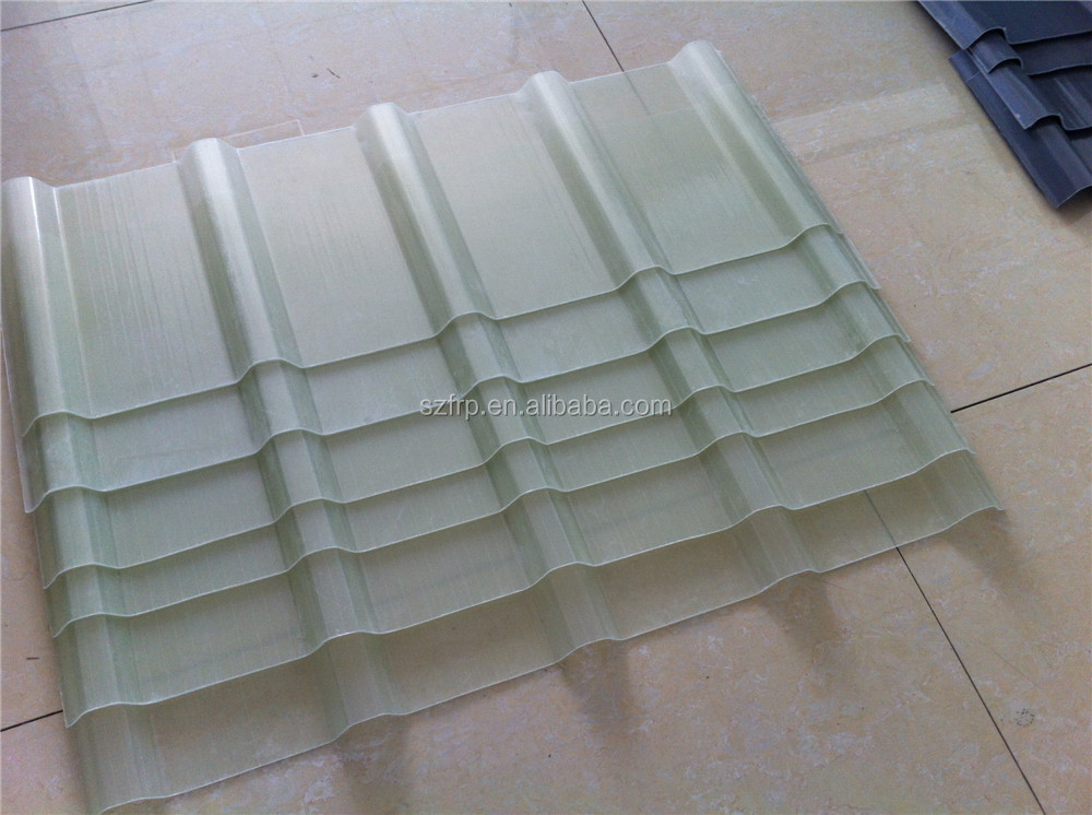 Clear Translucent Fiberglass Roofing Panel For Greenhouse